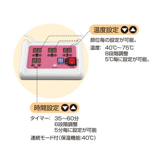 遠赤外線ヒートマット セラミック 3つ折りタイプ CML605BS