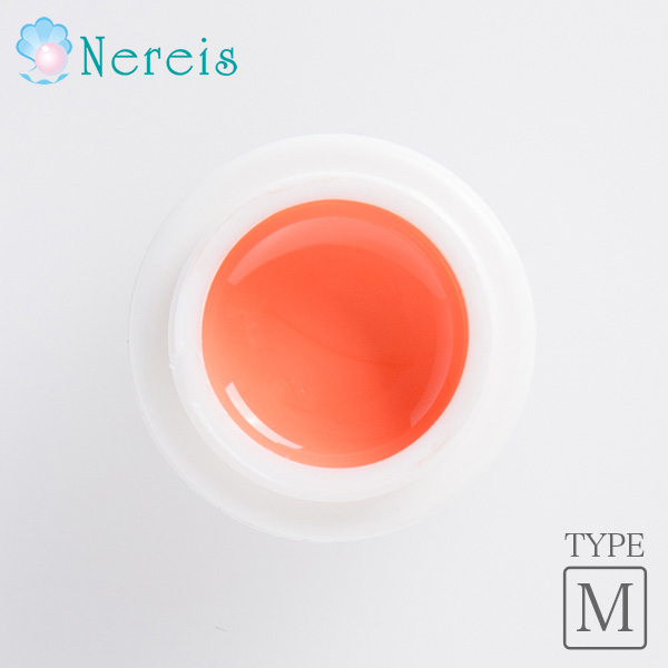 Nereis カラー ジェルネイル カルネオレンジ 4g(MT039)