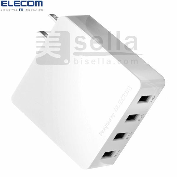 USB AC充電器 4ポート/エレコム