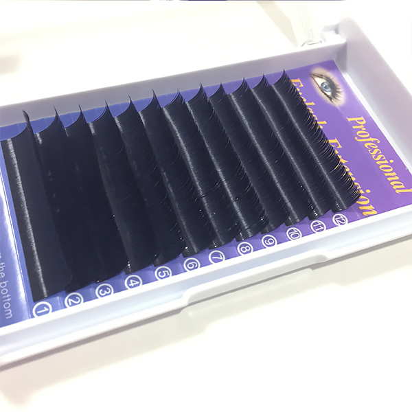 まつげエクステ・ピュアセーブル Cカール(太さ0.15mm)