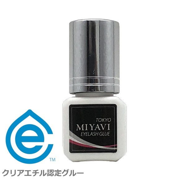 <クリアエチル>マツエク グルー まつげエクステ接着 2秒 超速乾 MIYAVI 日本製 5mL