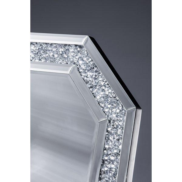 風水八角鏡 フォーチュンミラー ダイヤ
