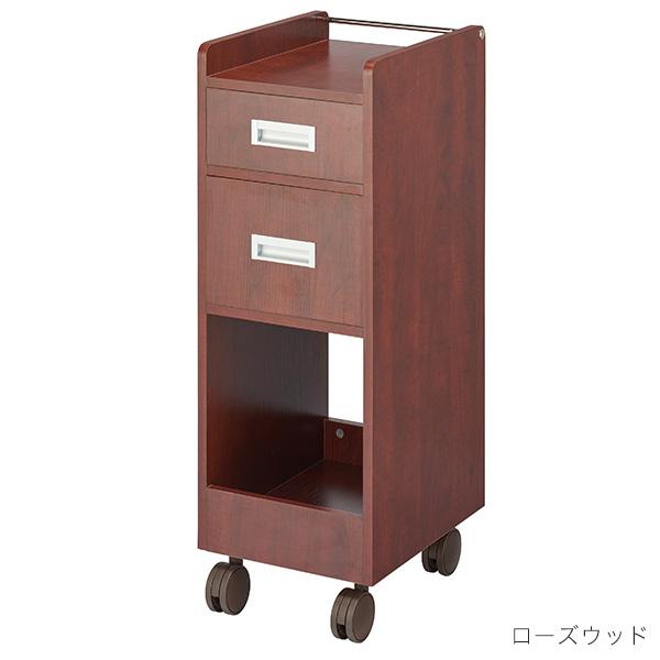 木製ワゴン ワームス キャスター付き BOX収納