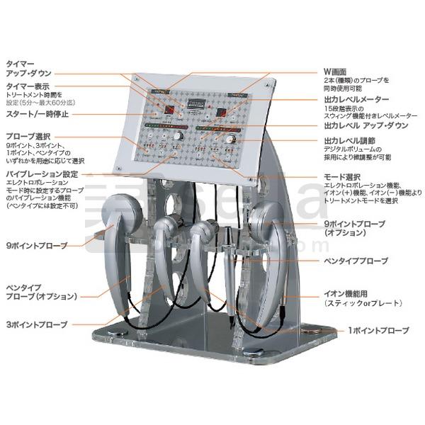 イーポレーション プロフェッショナル W(ポレーション・イオン導入器/導出・振動)