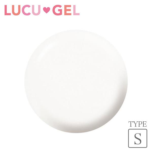 LUCUGEL ジェルネイルカラー シア—オフホワイト OWS01(シア—)