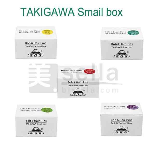 TAKIGAWAアメリカ玉付きピン(ボブ&ヘアピン)