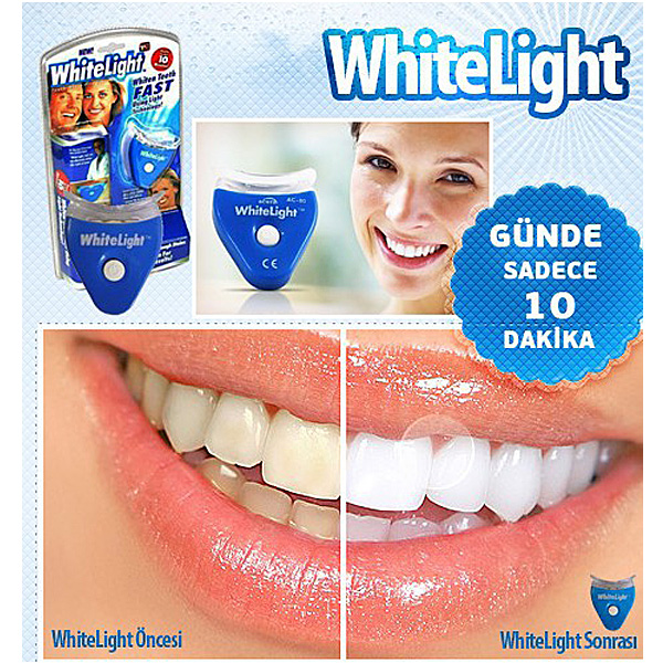 ホワイトニング 自宅で簡単! 白い歯 whitelight マウス