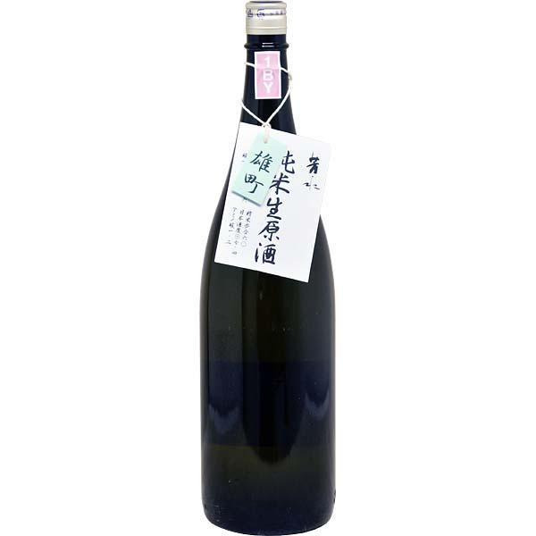 【日本酒PB】芳水 純米生原酒雄町PB1.8L (徳島・芳水酒造)