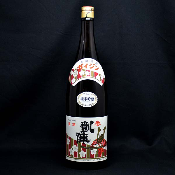 【日本酒】凱陣 誉純米吟醸 1.8L(香川・丸尾本店)
