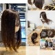 日本仕上げ 高品質 ヘアピース 人毛 100% ロング 30cm〜/40cm〜 細く柔らかい毛質 綺麗な髪 ウィッグ BISHUKU