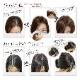 丁寧に仕上げたヘアピース 日本仕上げ 高品質 人毛 100% 25cm〜/30cm〜 細く柔らかい毛質 ウィッグ BISHUKU