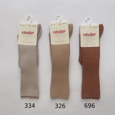 【SALE30%OFF】Condor *  Rib Cotton Knee High Socks