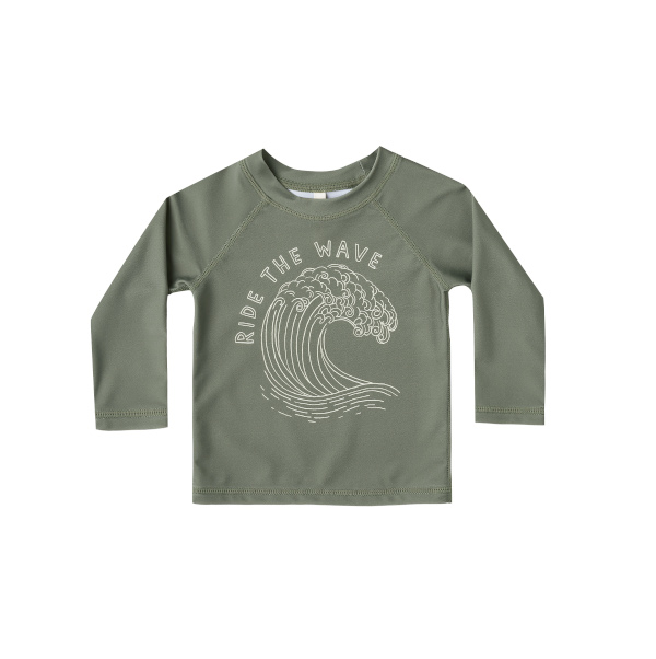 【SALE30%OFF】 Rylee&Cru   ride the wave rashguard