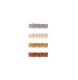 【SALE30%OFF】 Rylee&Cru   four flower clip set /blue-almond-shell-amber