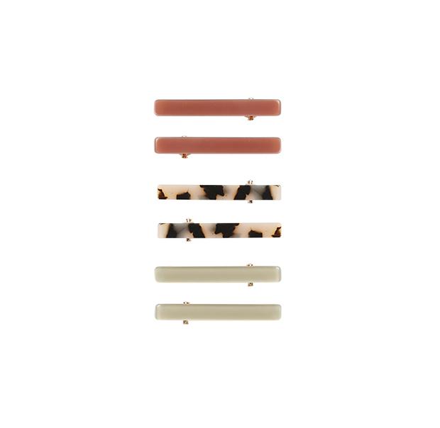 【SALE30%OFF】 Rylee&Cru   hair clip set /amber-tort-sage