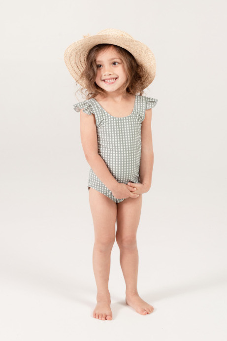 【SALE40%OFF】 Rylee&Cru   gingham frill onepiece