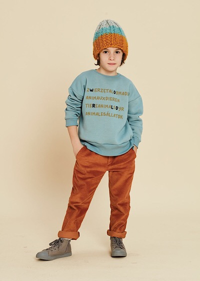 【SALE60%OFF】KIDS ON THE MOON    Animals Sweatshirt