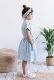 【SALE40%OFF】 MY LITTLE COZMO    DRESS-FRUITS / BLUE