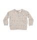 【SALE30%OFF】QUINCY MAE      Bailey Knit Sweater / fog stripe