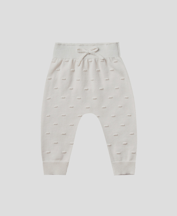 【SALE30%OFF】QUINCY MAE      Knit Pant / ivory
