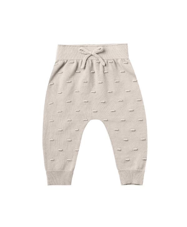 【SALE30%OFF】QUINCY MAE      Knit Pant / fog stripe