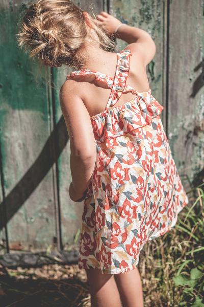 【SALE50%OFF】 MARLOT     DRESS ARGENTINE / MULTI FLOWERS