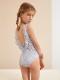 【SALE40%OFF】 OLIVIER       Jenetta Swimsuit / Elouise Blue