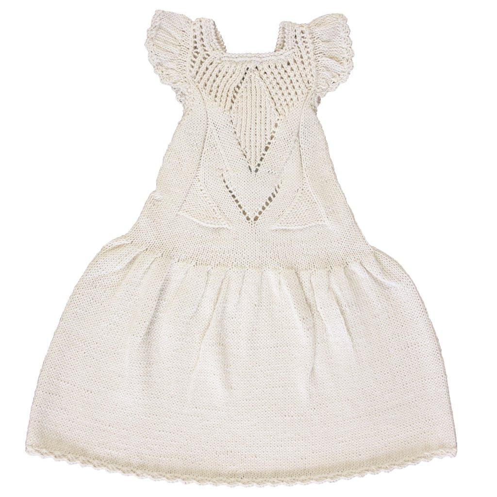 【SALE30%OFF】MIOU   Cotton Tutu Dress/Cream (3-4Y Last1!)
