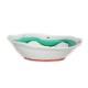 九谷焼 手描き 和洋食器 水玉よろけ文六寸楕円鉢