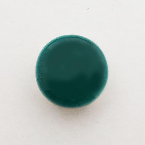 九谷五彩帯留(三分紐) 緑