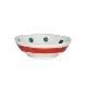 九谷焼 手描き 和洋食器 木瓜五弁花文様豆皿(箸置)