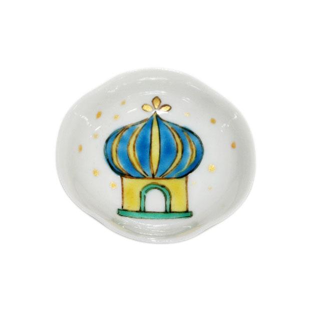 木瓜モスク文様豆皿