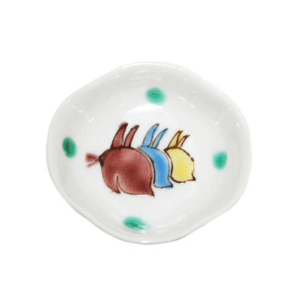 木瓜三兎文様豆皿