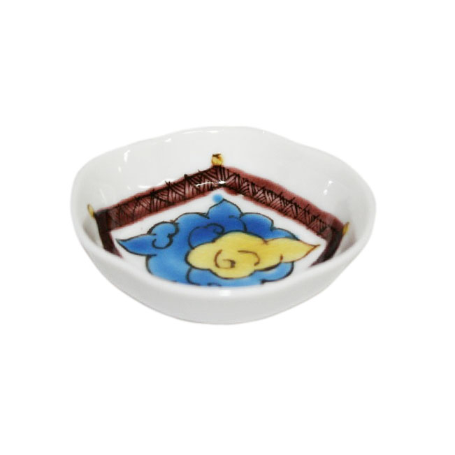 木瓜雲文様豆皿