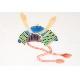 九谷焼 手描き 和洋食器 かぶと文木瓜皿