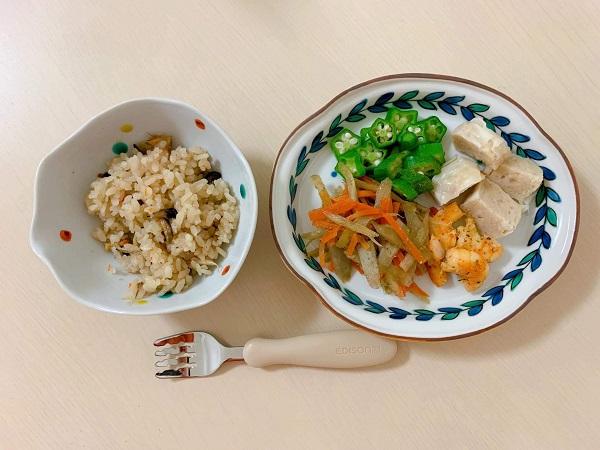 九谷焼 手描き 和洋食器 緑草水玉文様木瓜皿 早奈恵デザイン