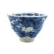九谷焼 手描き 和洋食器 手起し染付兎文様お茶碗