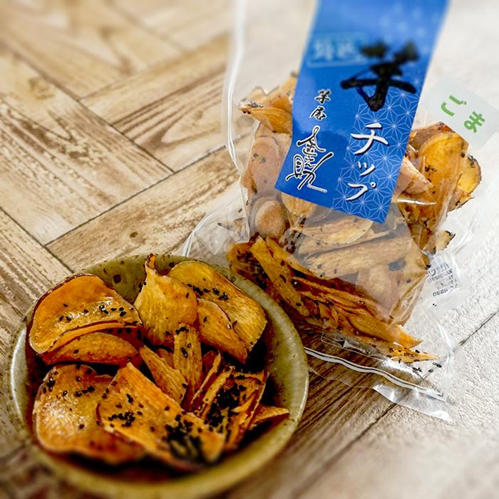 【たんぽぽ農園】<br>芋チップス・けんぴ詰め合わせ(大)8袋入