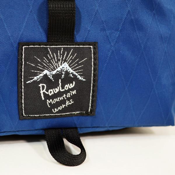 RawLow Mountain Works (ロウロウ マウンテンワークス)/タビチビトート X-Pac VX21【tabitibi tote X-Pac VX21】<Royal Blue>