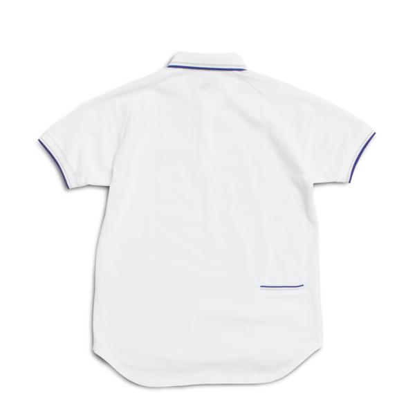 ナリフリ × フレッドペリー 蓄光鹿の子ポロ【narifuri x FRED PERRY Glows Embroidered Polo】<White> / narifuri (ナリフリ)