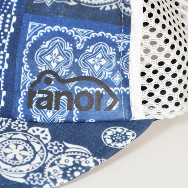 ranor(ラナー)/ バンダナ メッシュキャップ 【Bandana Mesh Cap】<Indigo>