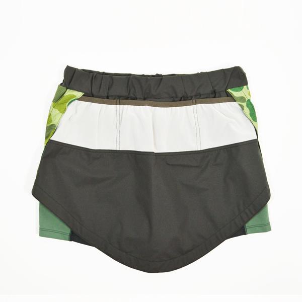 Mountain Martial Arts (マウンテンマーシャルアーツ) / MMA フィッシュテイル ランスカート 【 MMA Fish Tail Run Skirt 】<Charcoal Gray>