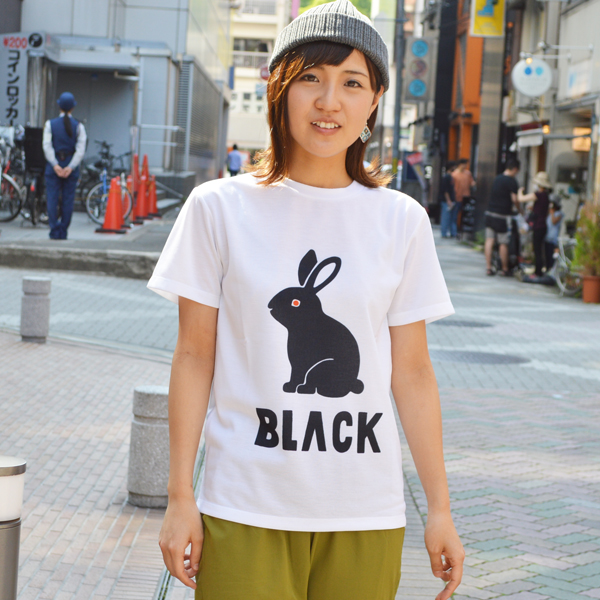 BLACK BRICK (ブラックブリック) / ドライ 「ウサギ」 Tee  【Dry 「USAGI」 Tee】<2 color>