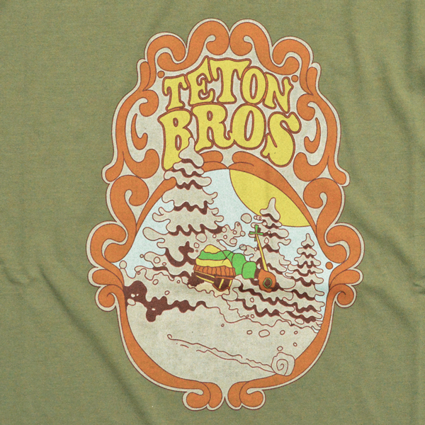 Teton Bros.(ティートンブロス) / ディープ パウダー Tee【Deeeep Powder Tee】<4 color>