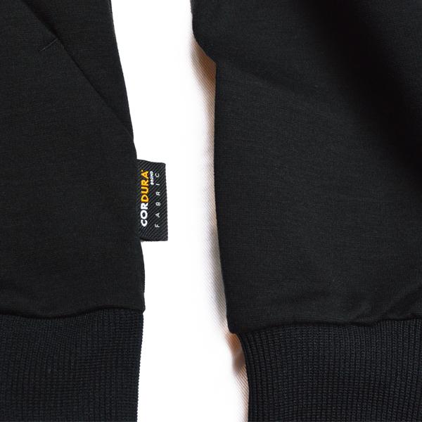 デュラブル ナイロンコットン ポンチパーカー 【Durable Nylon Cotton Ponte Parka】<Black> / narifuri(ナリフリ)