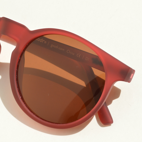 goodr(グダー) / ランニングサングラス GOLF CG【Running Sunglasses GOLF CG】<Burgundy>