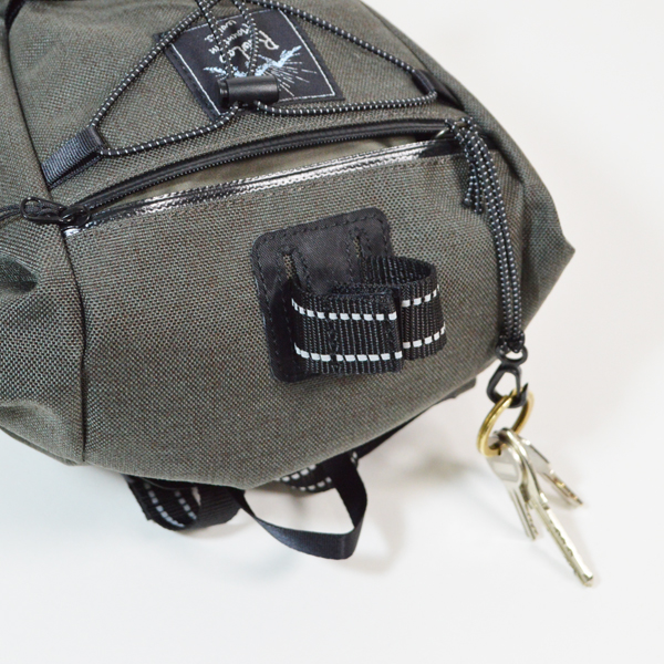 RawLow Mountain Works (ロウロウ マウンテンワークス) / バイクンハイクバッグ New Color 【Bike'n Hike Bag New Color】<Ash>