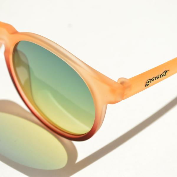goodr(グダー) / ランニングサングラス 「Carl's Inner Circle」 CG トロピカル【Running Sunglasses 「Carl's Inner Circle」 CG Tropical】<Orange>