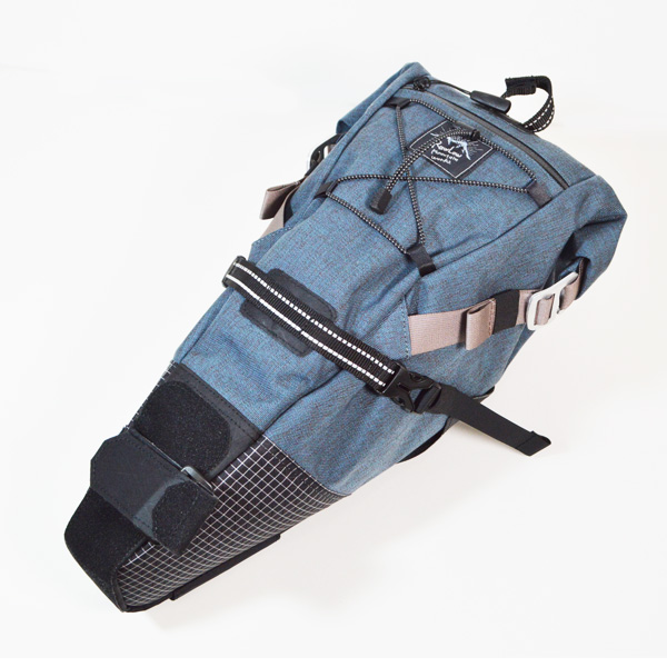 RawLow Mountain Works (ロウロウ マウンテンワークス) / バイクンハイクバッグ New Color 【Bike'n Hike Bag New Color】<Bluegray>