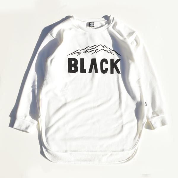 BLACK BRICK (ブラックブリック) / ドライ ロングスウェット 「BLACK」ロゴ 【Dry Long Sweat 「BLACK」Logo】<2 color>